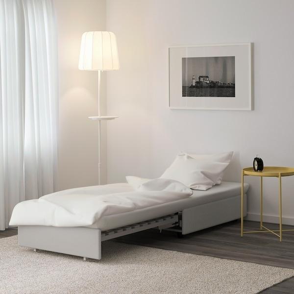 Chiếc ghế sofa có thể biến thành chiếc giường đơn khi bạn có nhu cầu