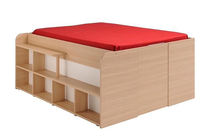 Chiếc giường giúp tiết kiệm tối đa không gian sống