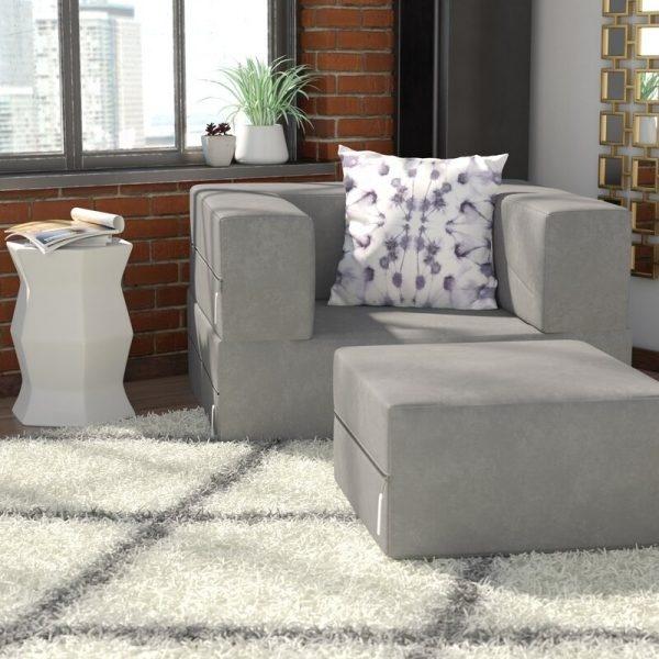 Bạn cũng có thể lựa chọn những mẫu ghế sofa có thể tách rời như thế này