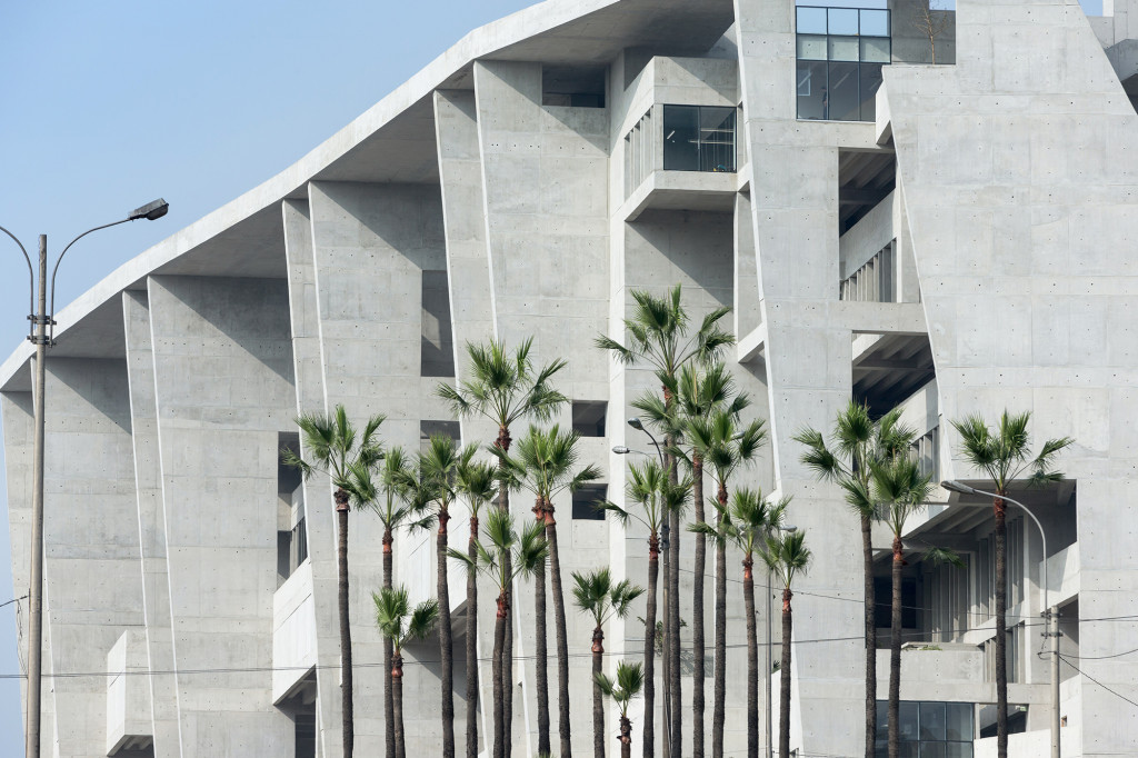 University Campus UTEC Lima (ảnh chụp bởi Iwan Baan)