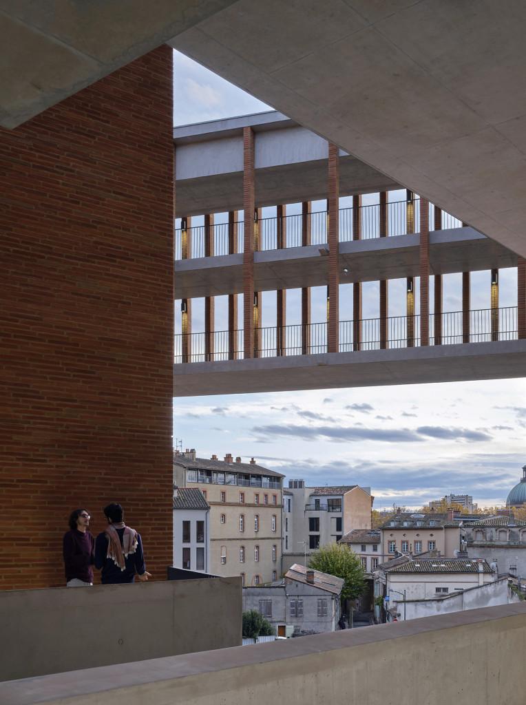Trường Kinh tế, Đại học Toulouse 1 (Ảnh chụp bởi Dennis Gilbert)