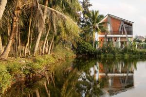 Cam Thanh A&A Villa – Ngôi nhà độc đáo phác hoạ những tán dừa và hình ảnh phố cổ Hội An