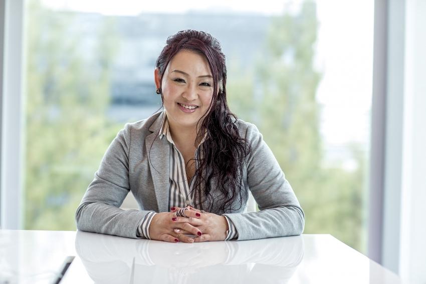 Bà Pamela Phua, Tổng Giám đốc Công ty Sơn AkzoNobel Việt Nam