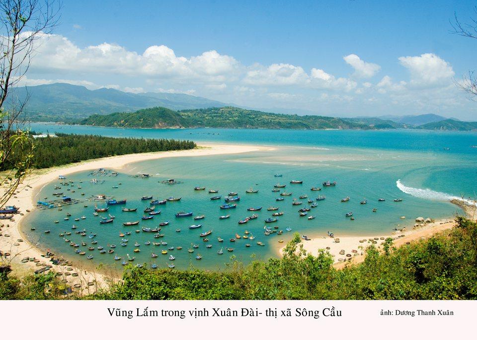 Danh thắng vịnh Xuân Đài/Báo Phú Yên