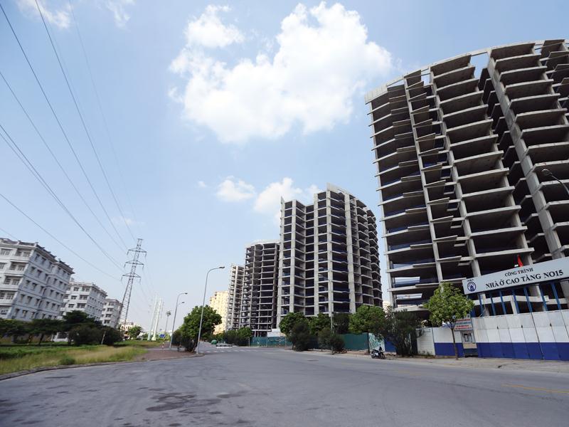 Hàng loạt dự án bất động sản đang gặp khó bởi dịch Covid-19. Ảnh: Đức Thanh