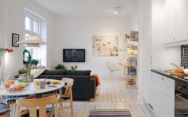 Mô hình căn hộ 25m2 dành cho những người độc thân