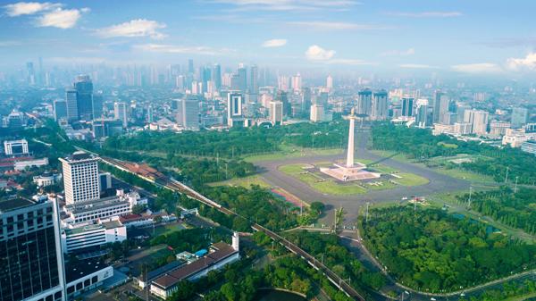 Khu trung tâm Jakarta