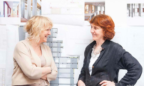 Giải thưởng Kiến trúc Pritzker 2020: Yvonne Farrell và Shelley McNamara