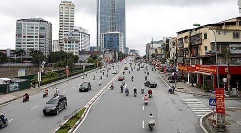 Hà Nội chỉnh trang kết cấu hạ tầng giao thông phục vụ Đại hội Đảng các cấp