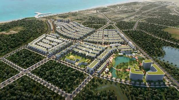 Phối cảnh tổng thể Meyhomes Capital Phú Quốc