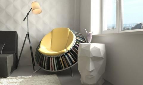 Những mẫu ghế đọc sách độc lạ