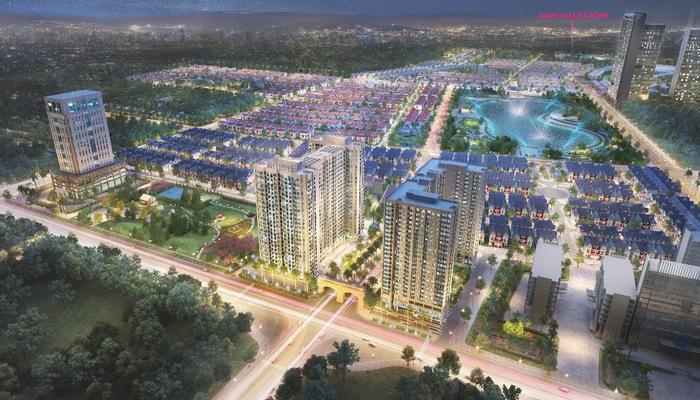 Khu đô thị Dương Nội nằm ngay cạnh Aeon Mall Hà Đông