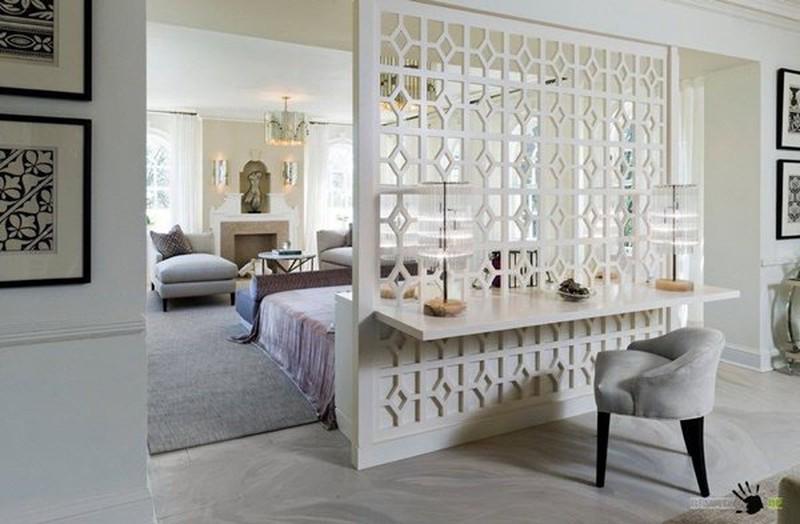 Nhựa là chất liệu thường thấy trong thiết kế nội thất