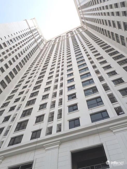 Căn hộ chung cư 25m2 vẫn là ước mơ của nhiều lao động nghèo ở Thủ đô. (Ảnh: Minh Thư)