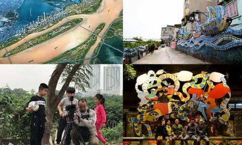 Hà Nội: Nỗ lực kiến tạo sân chơi trẻ em trên bãi hoang sông Hồng