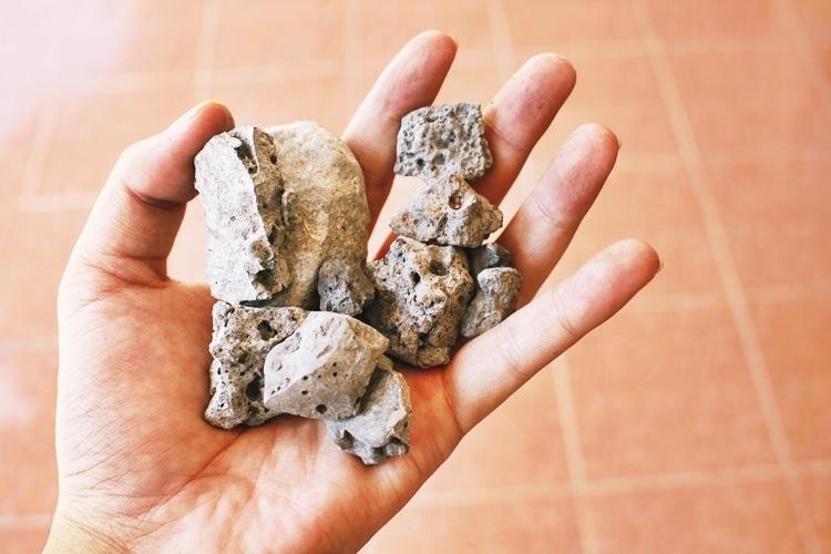 Nguyên liệu xỉ thép thô và thành phẩm bê tông nhựa