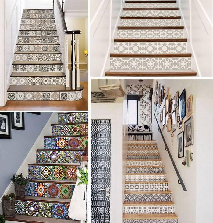 Những loại gạch ốp họa tiết ở cầu thang có thể biến ngôi nhà của bạn trở nên đẹp và ấn tượng hơn bội phần