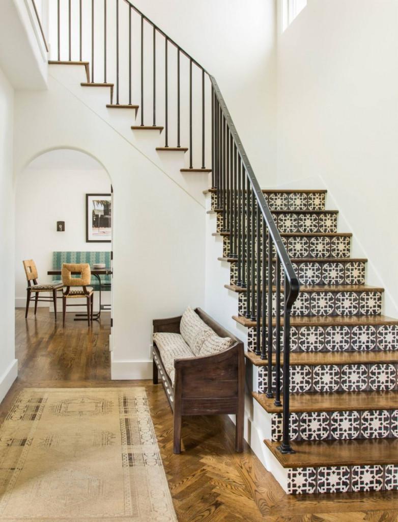 Cầu thang đóng vai trò quan trọng trong kiến trúc căn nhà