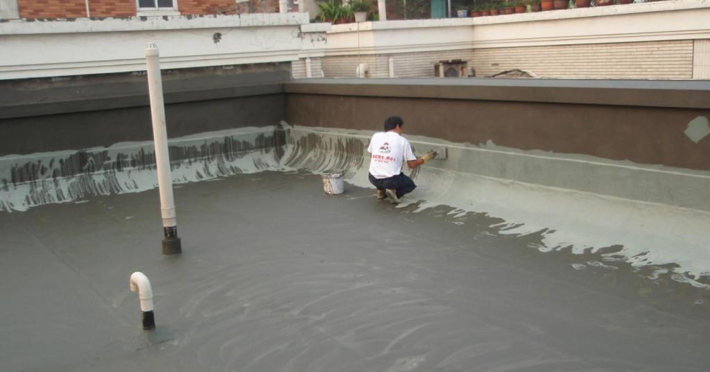 Sàn bê tông còn được ứng dụng trên mái nhà