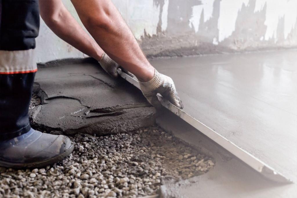 Các loại vật liệu nào được sử dụng dưới sàn bê tông đều có tác dụng giảm thiểu sự di chuyển của hơi nước