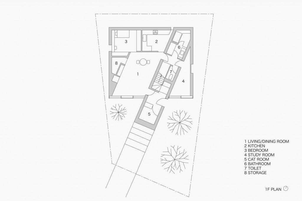 02_stairwayhouse_1Fplan-1