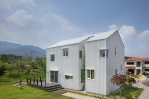 MOAK Twin House – Một ngôi nhà đơn giản