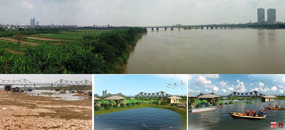 Sông Hồng phải nhiều nước và nước phải sạch mới phát huy giá trị