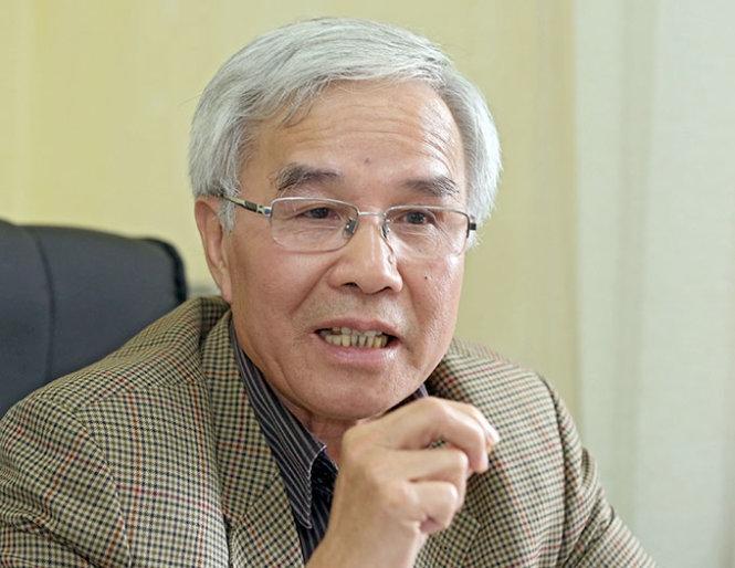 PGS.TS Trần Chủng - nguyên Cục trưởng Cục Giám định Nhà nước về Chất lượng Công trình Xây dựng (Bộ Xây dựng) (Ảnh: TL)