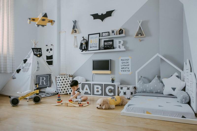 Vì muốn mang đến cho con trai một căn phòng như mơ, chủ nhân của ngôi nhà đã lên ý tưởng và hoàn thiện căn phòng cho bé trong khoảng thời gian 1 tháng