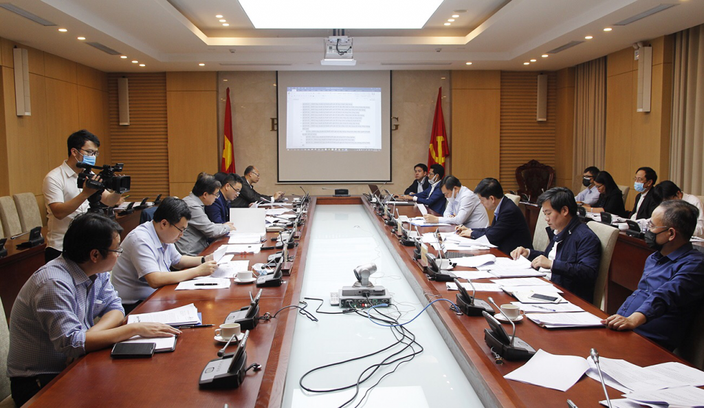 Cuộc họp về Đề án hoàn thiện hệ thống tiêu chuẩn, quy chuẩn kỹ thuật xây dựng có sự tham gia đầy đủ của đại diện các bộ, ngành liên quan