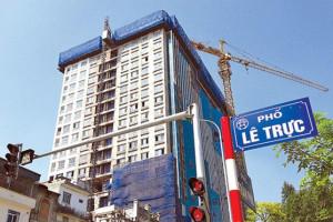 Quận Ba Đình: Xử lý dứt điểm các vụ vi phạm trật tự xây dựng phức tạp, kéo dài