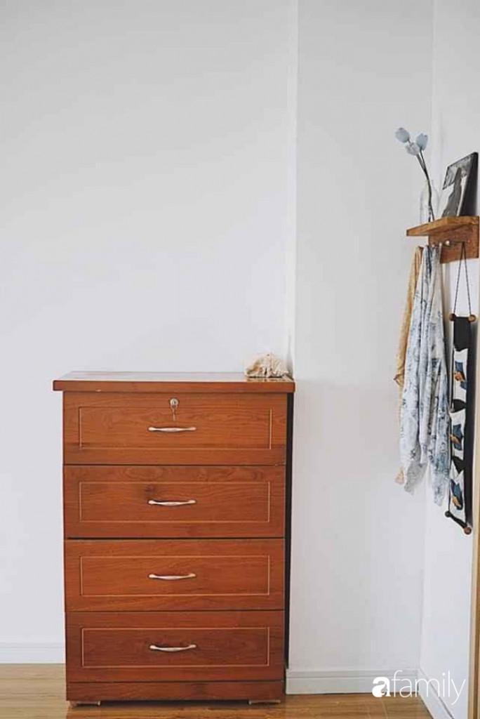 Góc tủ đựng đồ giúp không gian nhỏ gọn đẹp hơn