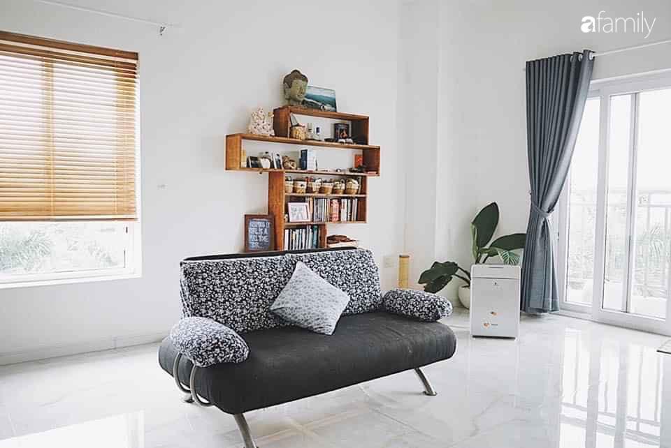 Góc phòng khách đơn giản nhưng không hề đơn điệu