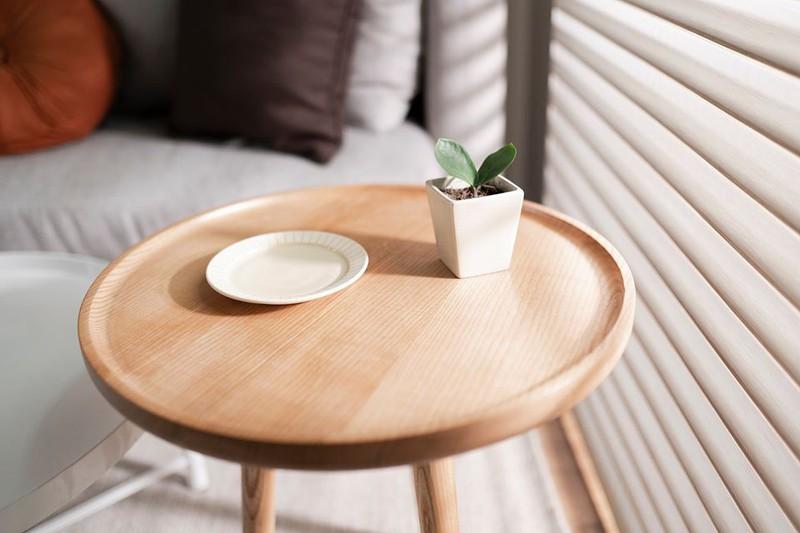 Ngôi nhà được thiết kế theo phong cách Japandi, hợp với những người yêu thích sự tối giản và xem trọng công năng