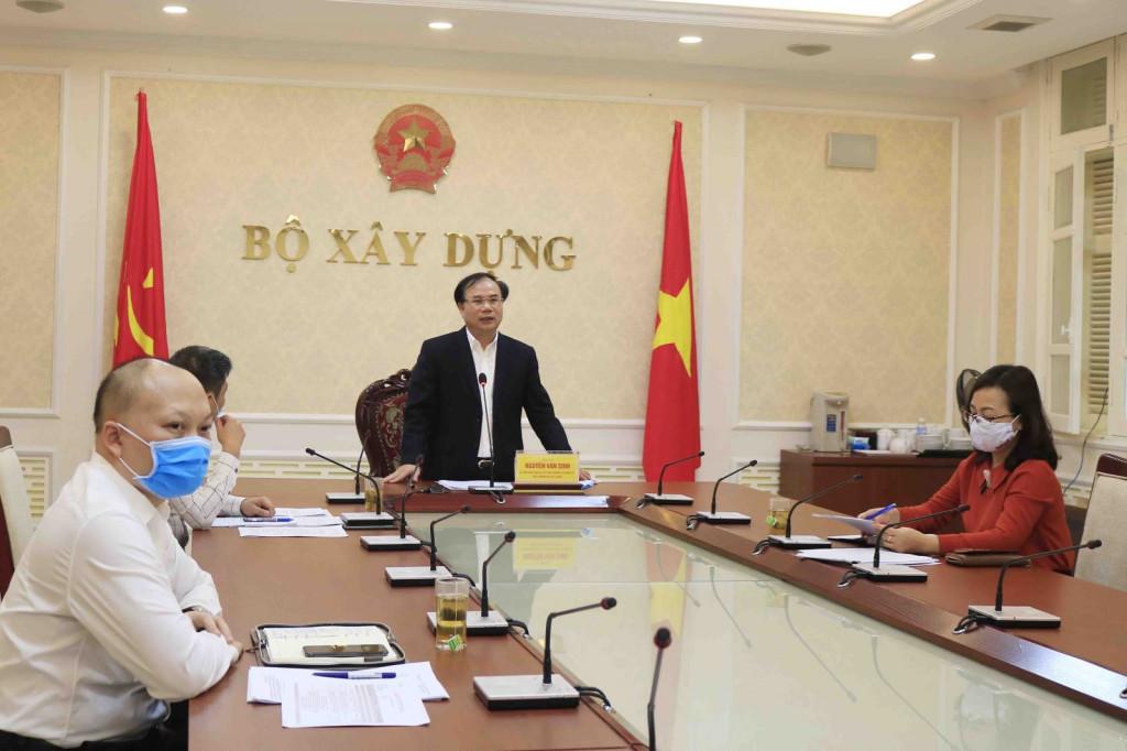 Thứ trưởng Nguyễn Văn Sinh chủ trì cuộc họp