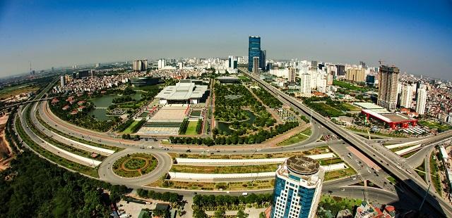 Quy hoạch đô thị phải đồng bộ cây xanh và không gian công cộng. Ảnh: Việt Dũng