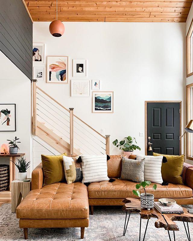 Khoảng mở rộng của sofa da này giúp bạn ngủ một cách thoải mái