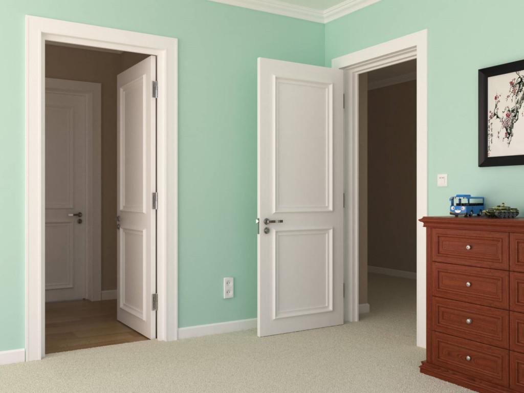 Cửa gỗ công nghiệp được ứng dụng trong nhiều không gian khác nhau
