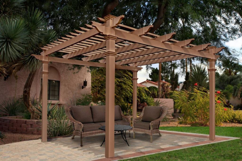 Mái che gỗ tạo nên sự sang trọng, cổ điển cho ngôi nhà của bạn