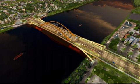 Thi tuyển chọn kiến trúc cầu vượt sông Hương