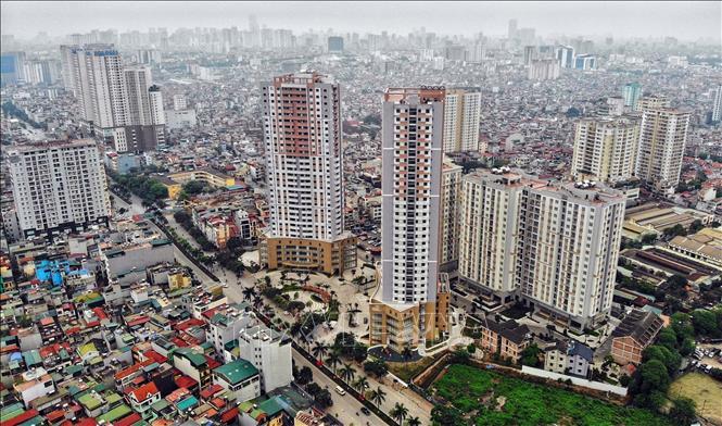 Trật tự xây dựng đô thị sẽ được quản lý chặt chẽ hơn, đảm bảo thống nhất với các luật liên quan. Ảnh: Danh Lam/TTXVN