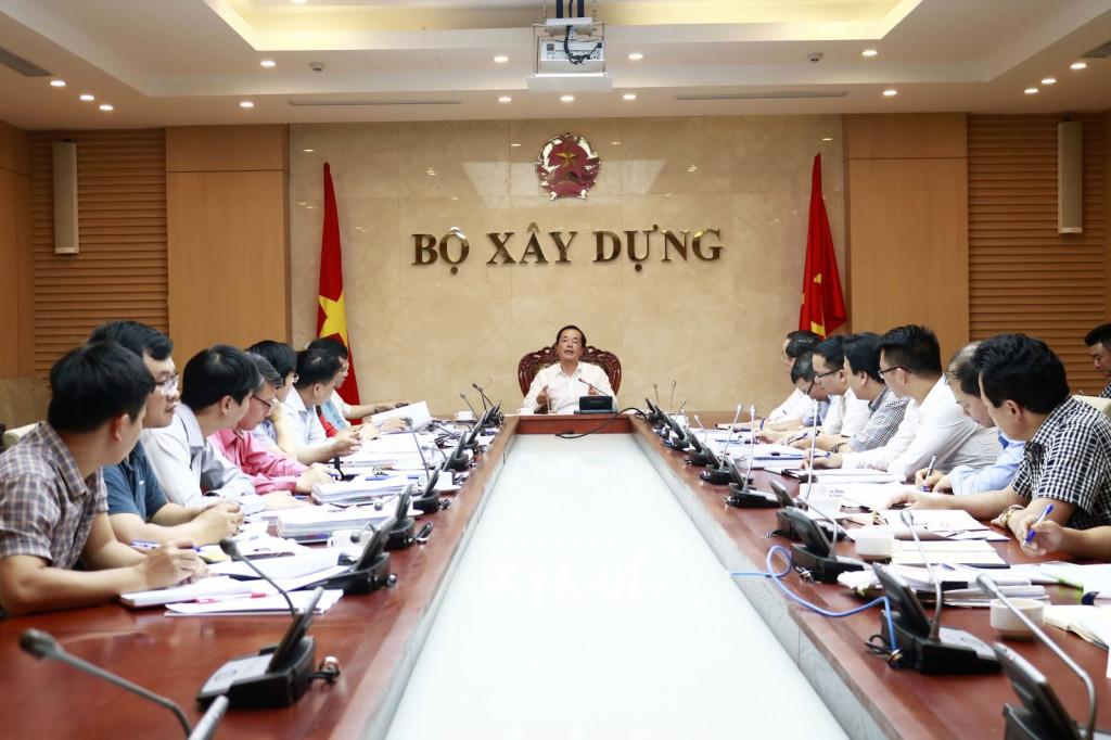 Bộ trưởng Phạm Hồng Hà chủ trì cuộc họp