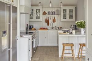 Thiết kế để căn bếp nhỏ trông rộng rãi hơn