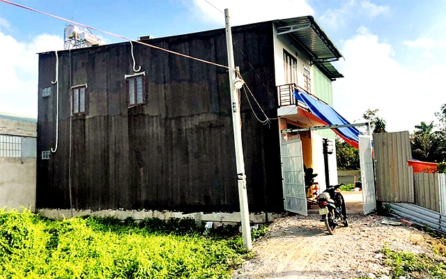 Nhà xây dựng không phép tại tổ 8, khu phố 3B, phường Thạnh Lộc, quận 12