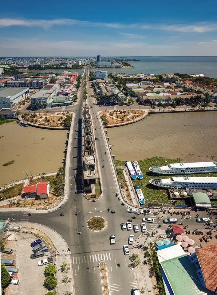 Khu lấn biển Rạch Giá, Kiên Giang - Nguồn ảnh: Phú Đức