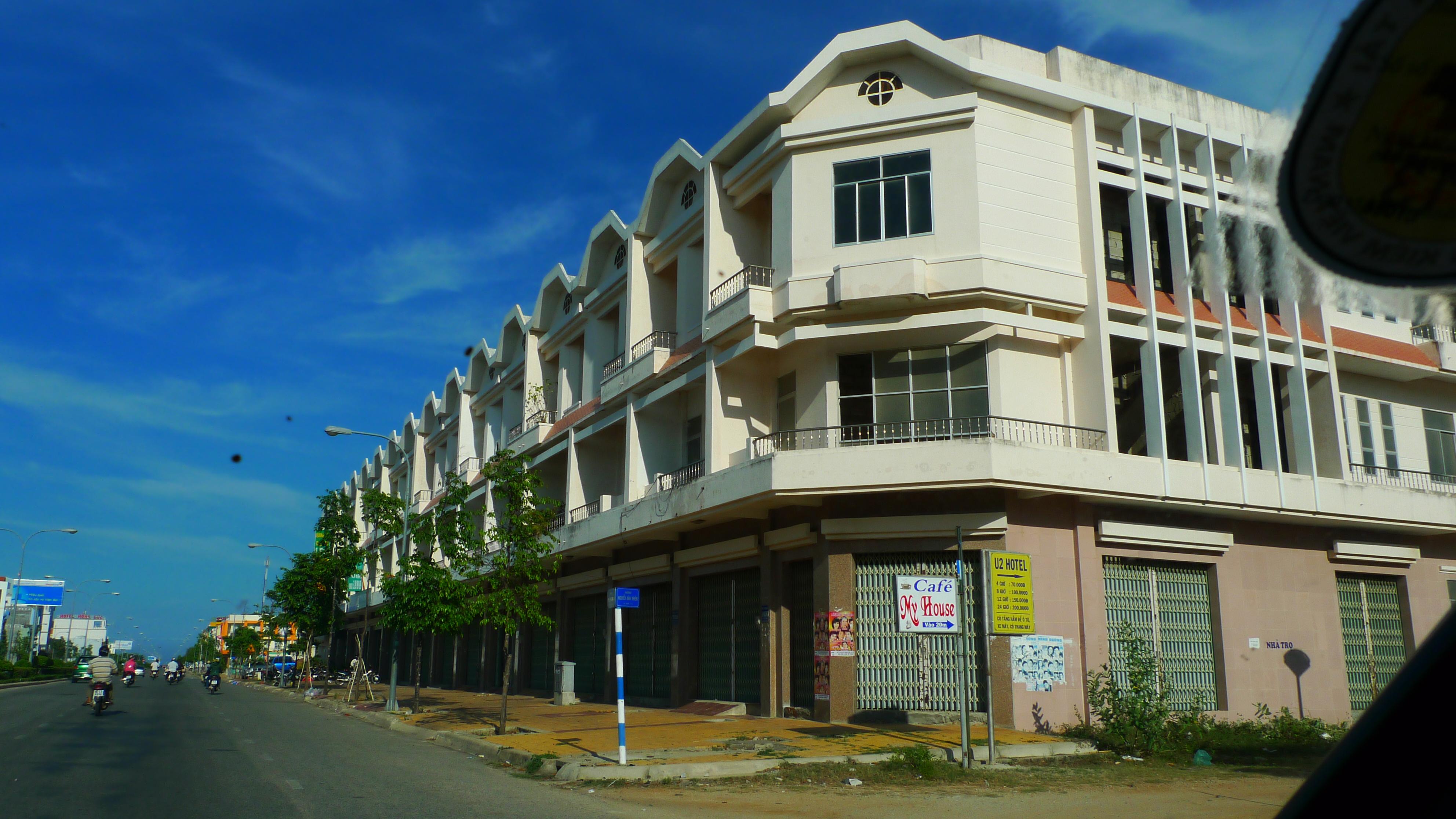 Kiến trúc dự án BĐS tại Ninh Thuận (Ảnh: Doãn Đức)