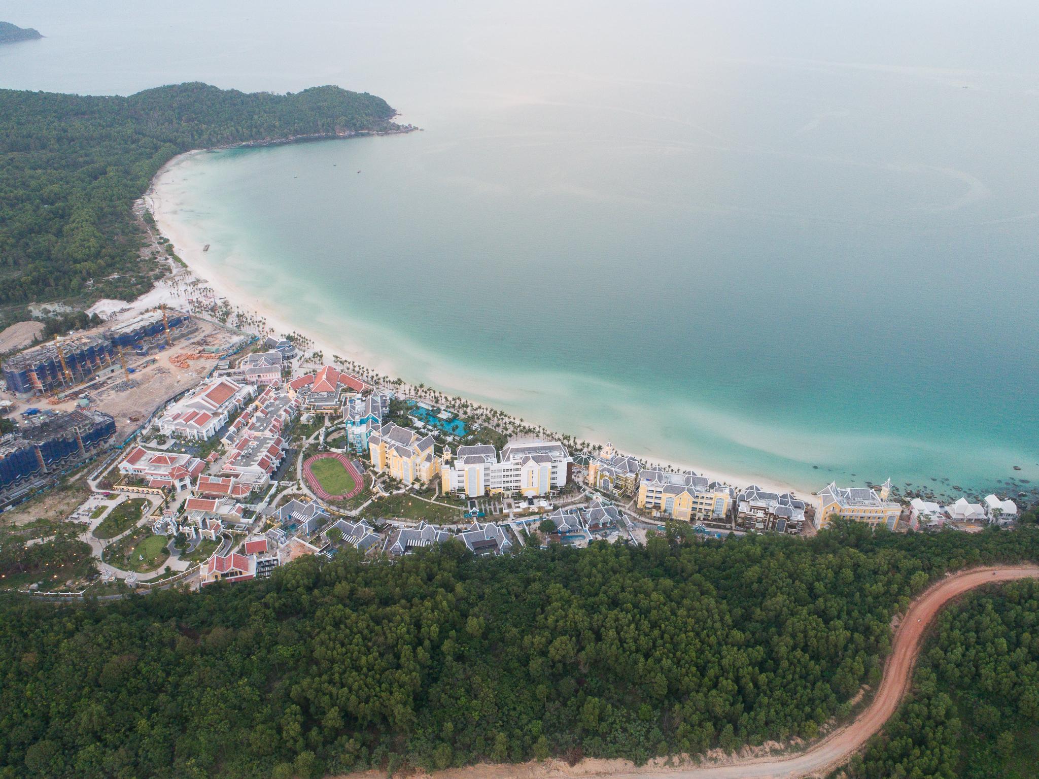 Dự án tại Phú Quốc, Kiên Giang (Ảnh : Lê Thắng)