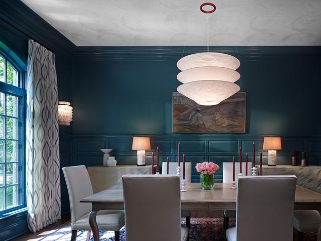 Sự tương phản của tranh treo tường và gam màu chủ đạo của căn phòng cũng sẽ quyết định độ nổi bật của bức tranh