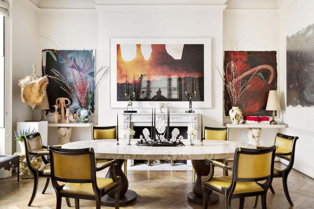 Khi bạn cảm thấy căn phòng ăn của gia đình quá nhàm chán và đơn điệu hãy thử nghĩ cách bổ sung thêm màu sắc bên trong nó