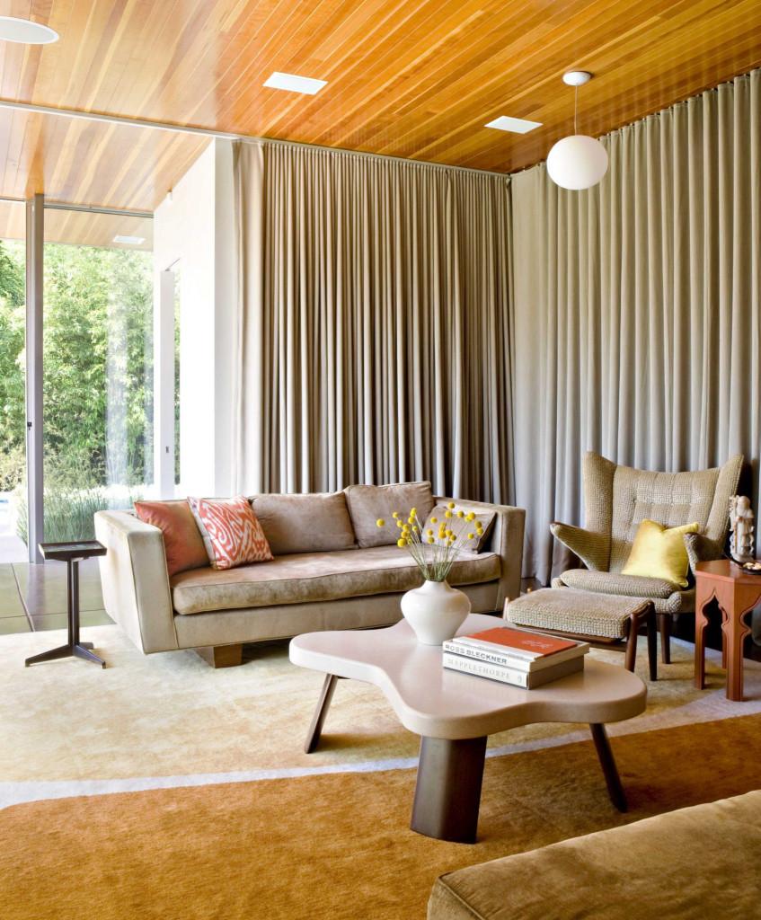 Với mọi không gian phòng khách lớn hay nhỏ bạn đều có thể áp dụng phong cách nội thất đương đại này